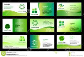 Business Card Eps Template Business Card Template Design Stock Photography Image 18496322