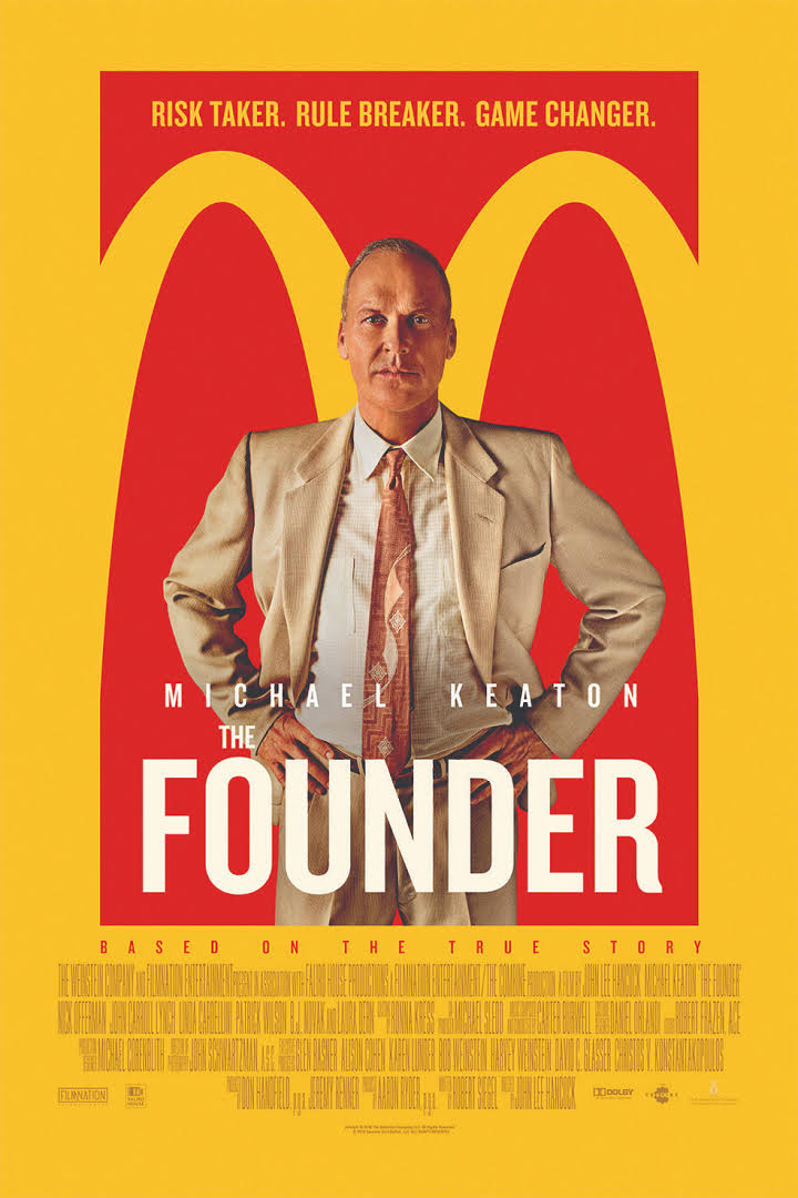 Image of The Founder film cover.