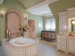 bathroom opulent french country bathroom with round bathtub and