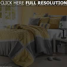 bedding sets bed in a bag comforter set at com iris black piece