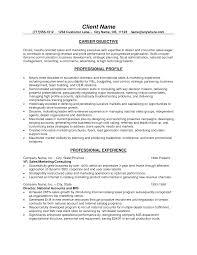 Examples For A Resume by 10 Best Resume Objective Samples Samplebusinessresume Com