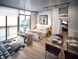 Small Studio Apartments With Beautiful Design - Interior design studio apartments