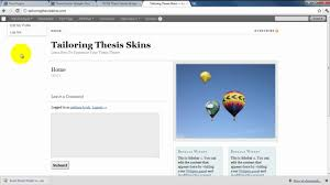 How to Create a Widgetized Footer in Thesis   Part     YouTube How to Create a Widgetized Footer in Thesis   Part