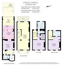 caroline terrace london sw1w 3 bedroom terraced house for sale