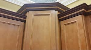 Crown Moldings For Kitchen Cabinets How To Install Crown Molding On Staggered Kitchen Cabinets Kitchen