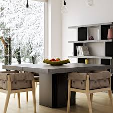 Concrete Dining Room Table Modern Dining Tables Dusk 59