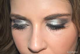 glitter dust fairy halloween makeup a pop of colour