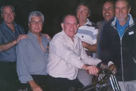 L-R Alan Jackson, Dingle Brown, Dennis Mannion, Laurie Etheridge, Geoff Maloney and Terry Stone and ... - terry%20stone%201