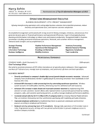 chief technology officer cv beispiel cto resume template sample