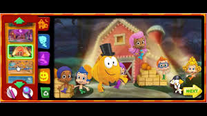 nick jr bubble guppies good hair day cartoon animation game play