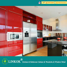 Mdf Kitchen Cabinets Reviews Linkok Furniture China Wholesale Manufacture Lacquer Faced Mdf