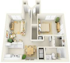one bedroom apartment plan photos and video wylielauderhouse com