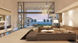 modern dream house interior design ideas with beautiful pendant