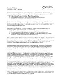 Recruiting Resume Examples by Charming Resume Summary Examples
