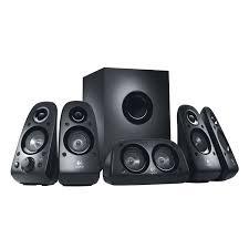genius sw 5 1 home theater logitech z506 5 1 surround sound speaker black computer