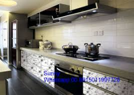 Ready Made Kitchen Cabinets by 2017 China New Foshan Zhihua Wooden Apartment Ready Made Kitchen