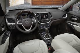lexus jeep 2016 interior 2016 jeep cherokee gains luxurious overland model