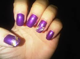 purple nail art designs u2013 acrylic nail designs