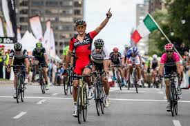 Greg Van Avermaet beats Peter Sagan to victory in GP de Montr  al