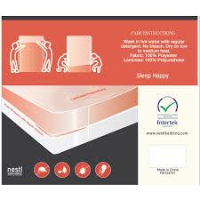 amazon com mattress encasement mattress protector for bed bugs