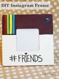 diy instagram frame great gift for teens too cute coaster idea