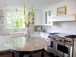 round kitchen island home decoration ideas