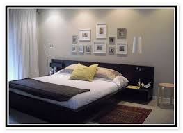ikea platform bed with attached nightstands ideas for the house