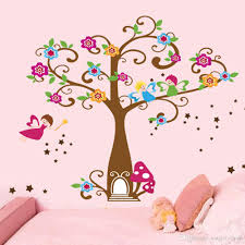 wall decor for kids playroom online wall decor for kids playroom little elf magic tree house wall decal stickers decor for kids room nursery playroom home decorative mural art stickers