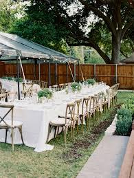 shyler and trevor u0027s backyard dallas wedding with becca lea