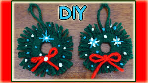 Homemade Christmas Decorations by Easy Homemade Christmas Ornaments Youtube
