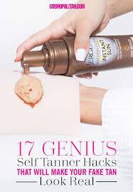 17 genius self tanner hacks that will make your fake tan look real