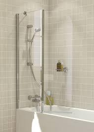 over bath shower screens lakes bathrooms
