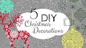 Christmas Decorations Diy by 5 Diy Christmas Decorations Made From Reclaimed Wood
