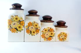 Kitchen Decorative Canisters 28 Ceramic Canisters For Kitchen Vintage White Ceramic