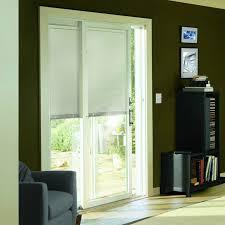 exterior door with blinds between glass blinds u0026 shades