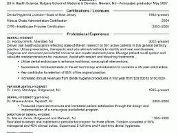 Sample Dental Hygienist Resume by Smart Inspiration Dental Hygiene Resumes 8 Dental Hygienist Resume