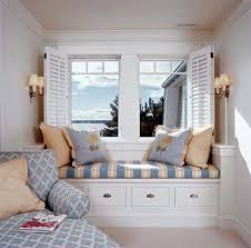 Bay Window Desk Bedroom Bedroom Cool And Calm Design Design Bay Window Within Cool