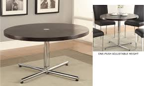 Simple Coffee Table by Furniture Simple Design Bar Height Side Dark Round Table Height Of