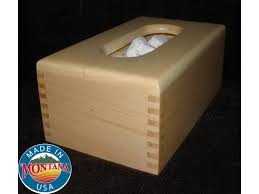 wall mounted kleenex holder tissue box cover solid maple 0210201511