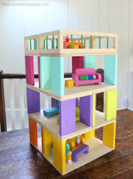 Miniature Dollhouse Plans Free by Modular Stackable Dollhouse Free And Easy Diy Project And