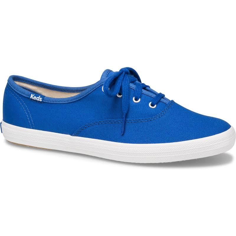 Keds Champion Solids Blue Canvas Sneaker 7M