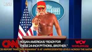 Story On Thanksgiving Hulk Hogan For President It Could U0027ve Happened Wcw Worldwide