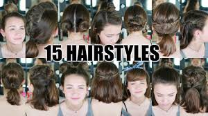 15 Heatless Hairstyles For Short Hair Back To Youtube