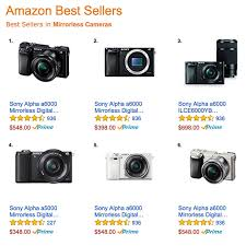 amazon top black friday deal sony alpha mirrorless camera deals top amazon best sellers