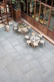 concrete effect ceramic floor visions by rex self laying outdoor