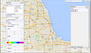 Google Maps Illinois by Creating Styled Google Maps In Ggmap R Bloggers