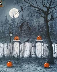 vintage halloween u2022 halloweenshit art by alan dellascio