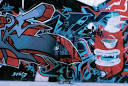 graffiti art covered disappear to
