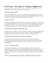 how to start writing an essay Free Essays and Papers Sat Examples For Essay Sat Essay Format   a    e