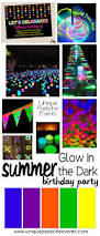 Halloween Party Game Ideas For Teenagers by Glow In The Dark Party Ideas 14th Bday Party Pinterest